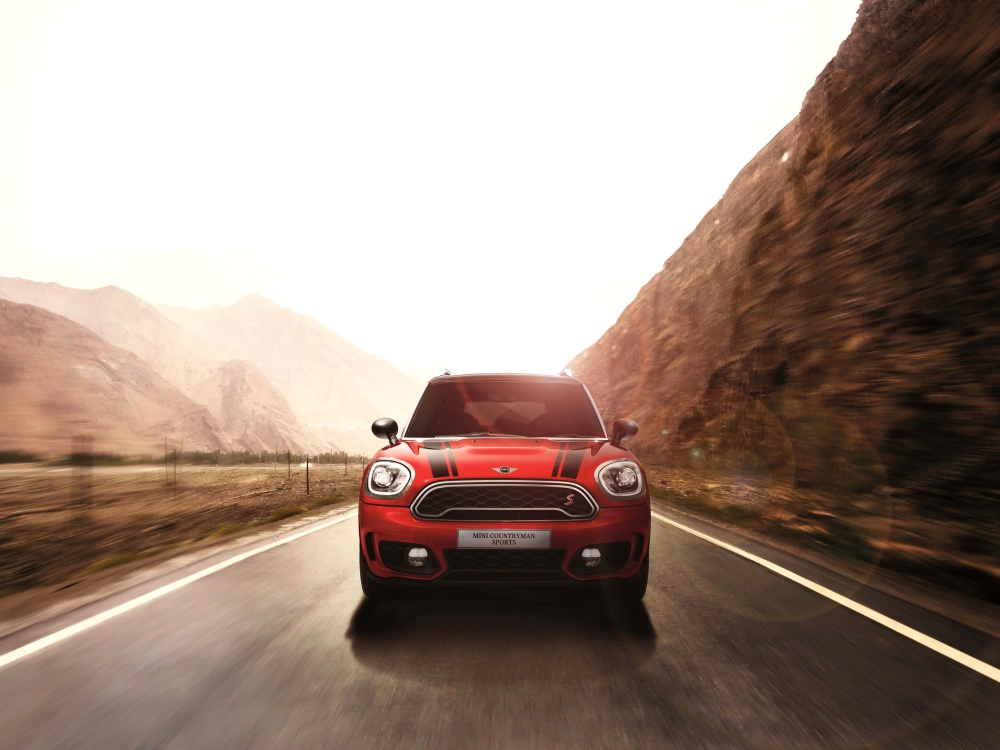 mini countryman plug in hybrid and mini cooper s countryman sports BIG - MINI Countryman 都会动感,酷帅出行!