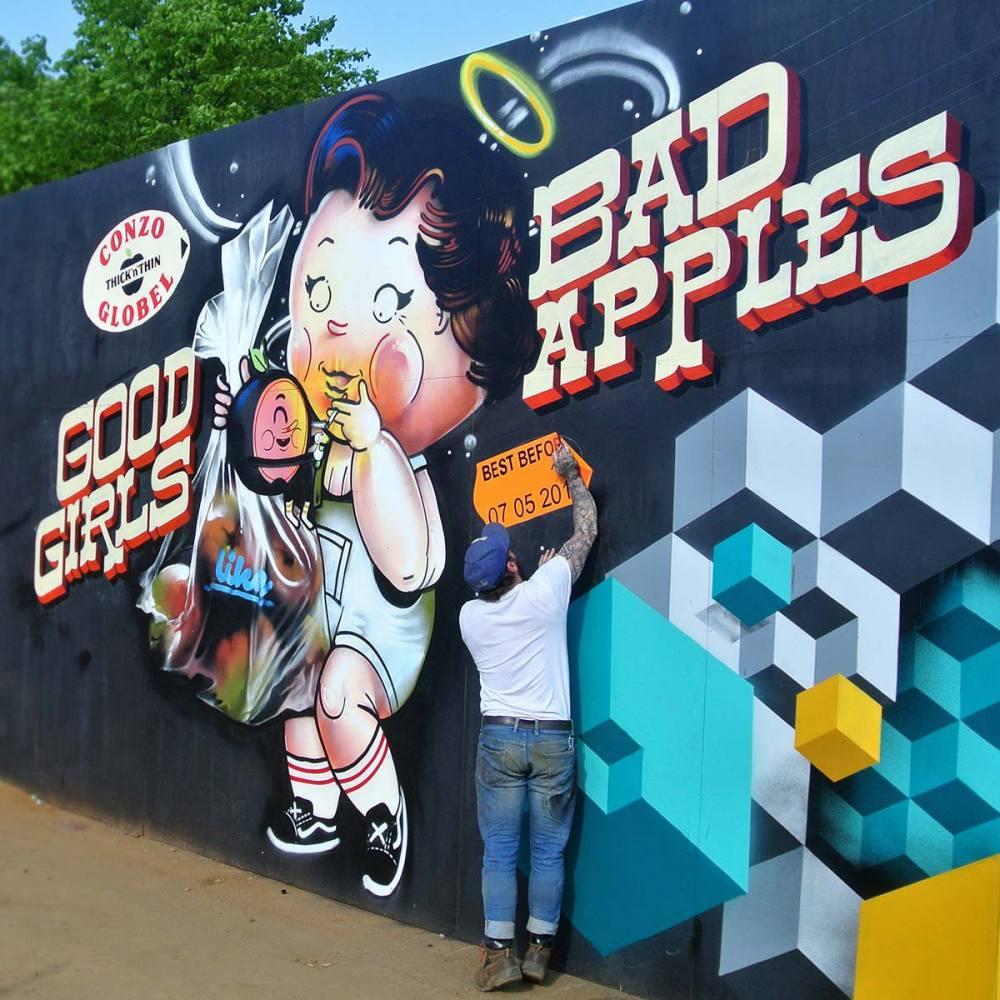 nuart aberdeen street art festival 2018 Globel  - Nuart Aberdeen 年度街头艺术盛事将展开!