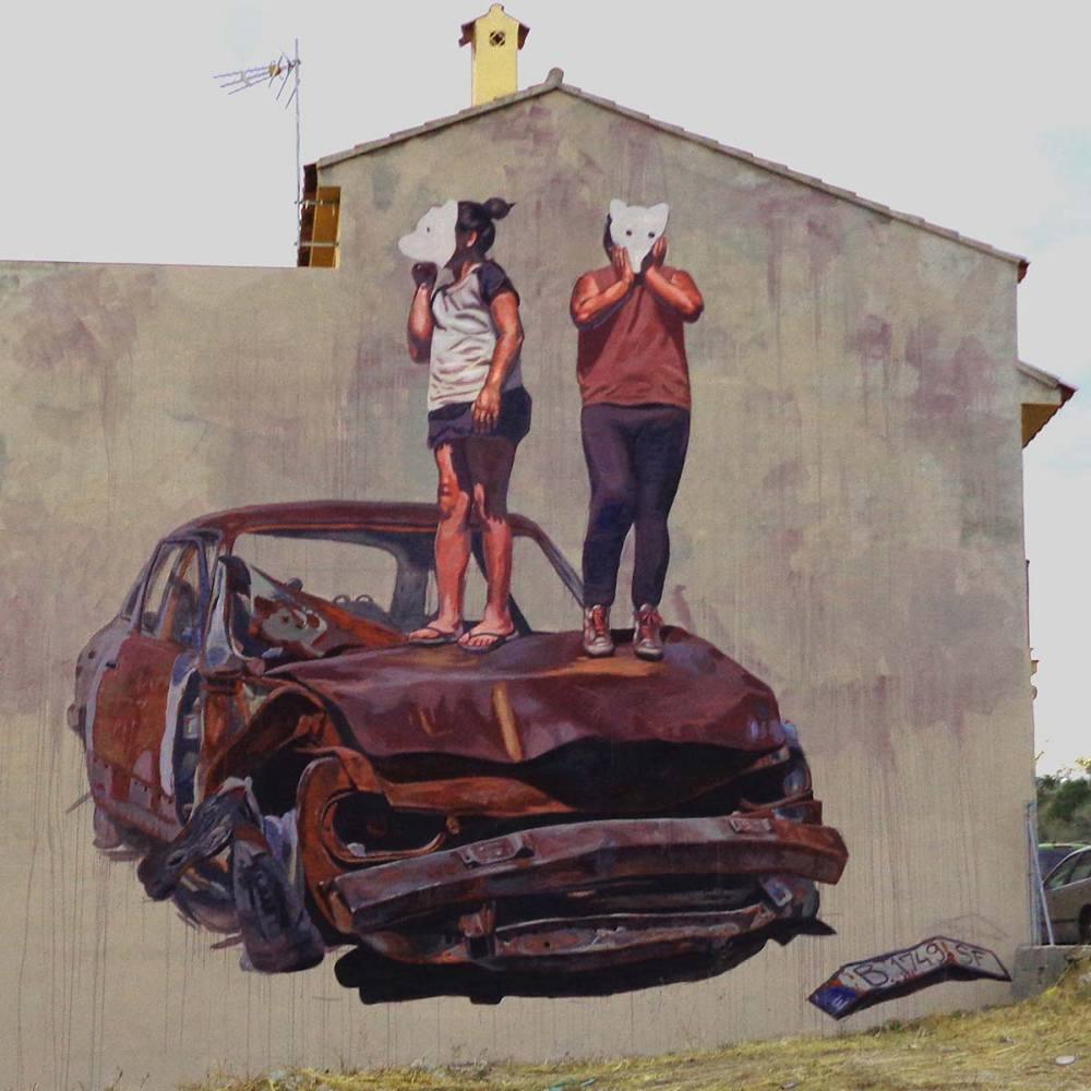 nuart aberdeen street art festival 2018 Milu - Nuart Aberdeen 年度街头艺术盛事将展开!