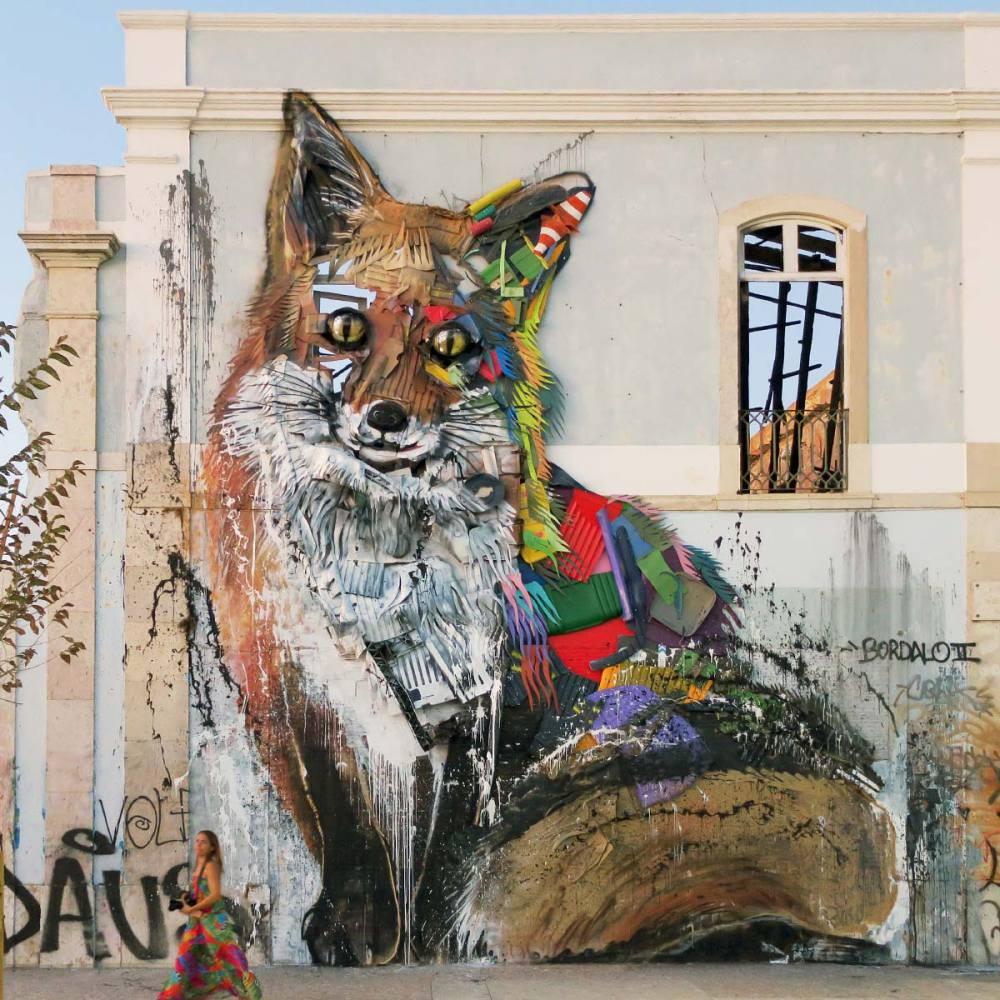 nuart aberdeen street art festival 2018 bordalo  - Nuart Aberdeen 年度街头艺术盛事将展开!
