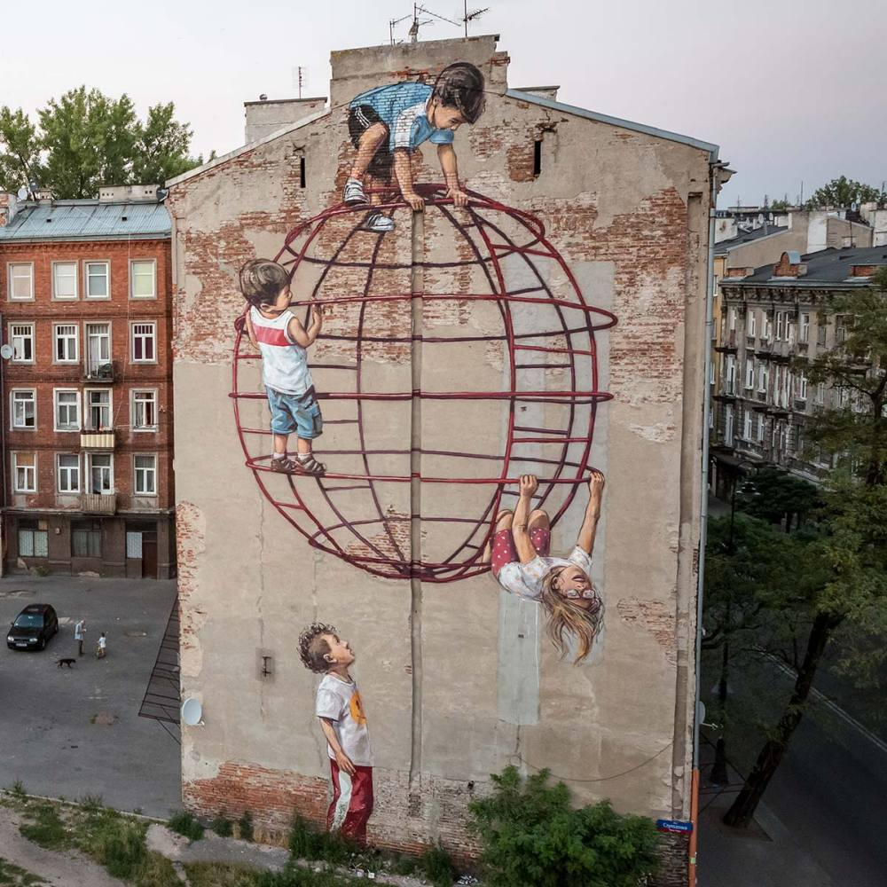 nuart aberdeen street art festival 2018 ernest - Nuart Aberdeen 年度街头艺术盛事将展开!