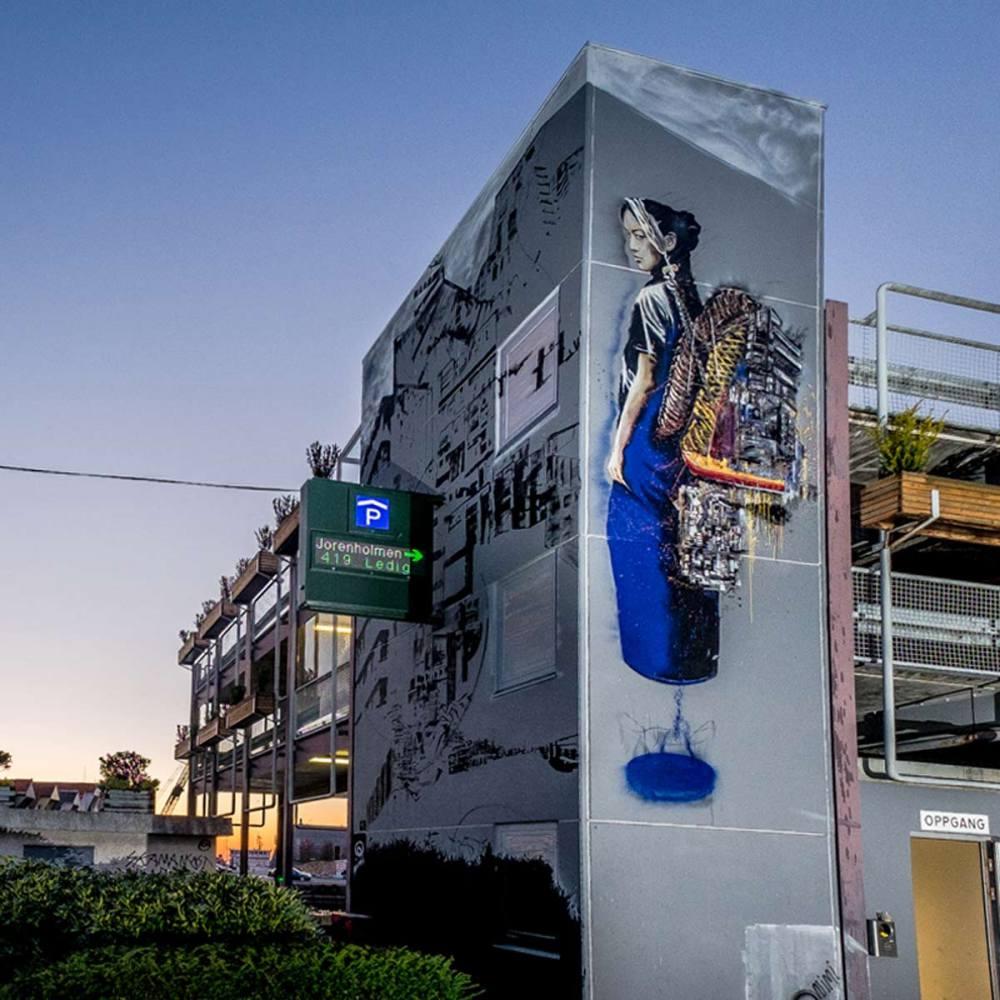 nuart aberdeen street art festival 2018 nimi  - Nuart Aberdeen 年度街头艺术盛事将展开!
