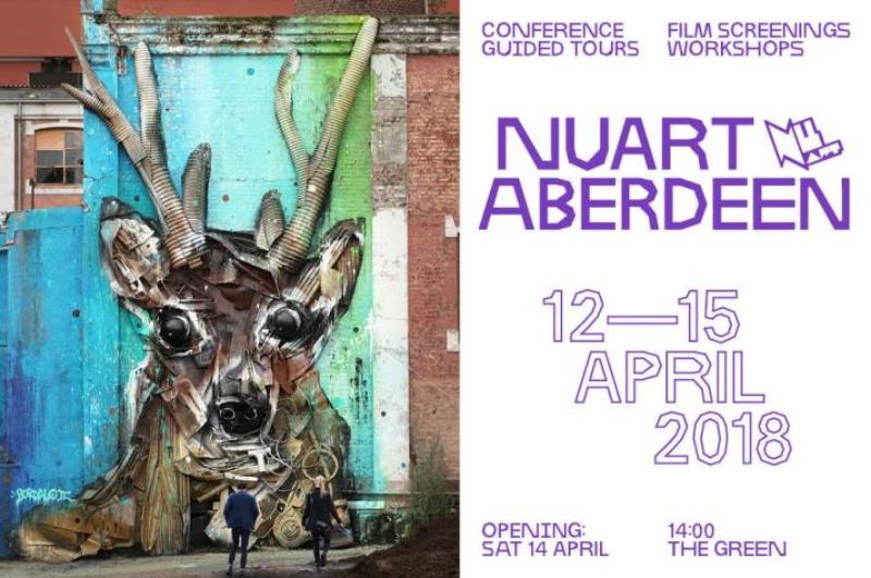 nuart aberdeen street art festival 2018 - Nuart Aberdeen 年度街头艺术盛事将展开!