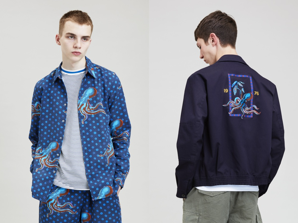 ps paul smith pitti uomo spring summer octopus 2018 BIG - 趣味八爪鱼带领你看 PS Paul Smith 春夏设计