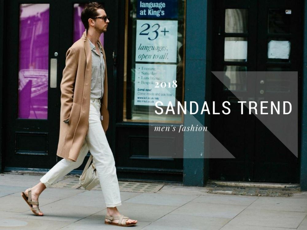 sandals fashion trend men style BIG - 22双春夏凉鞋,穿出随性的型态!