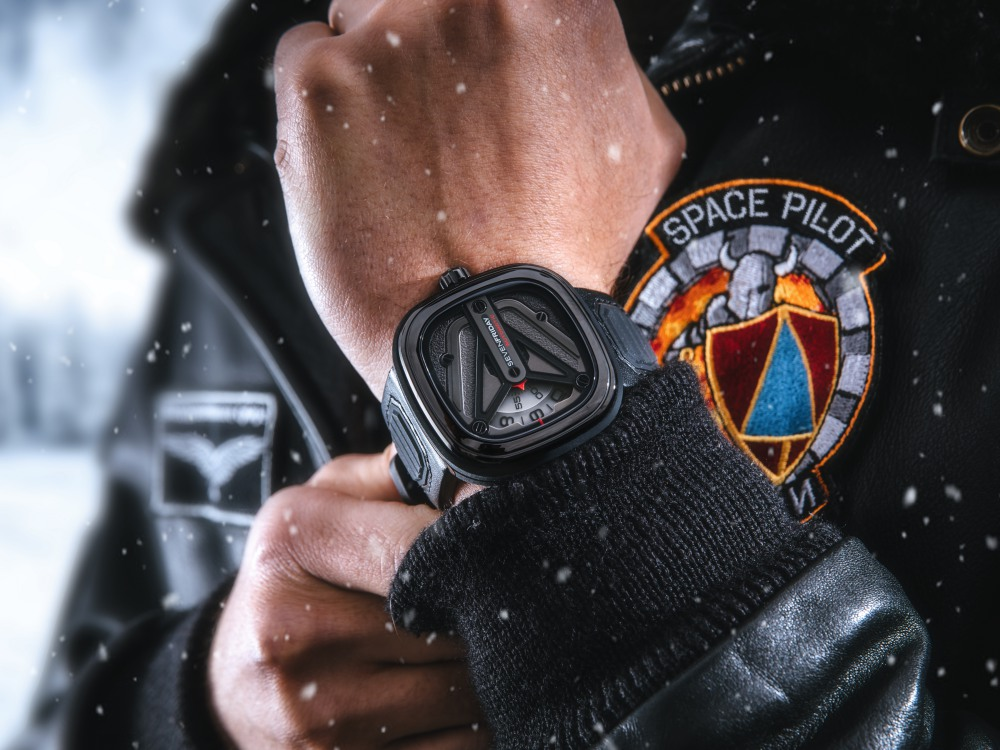 sevenfriday new watch 2018 m301 3 - Sevenfriday 穿越于未来主义与传统文化