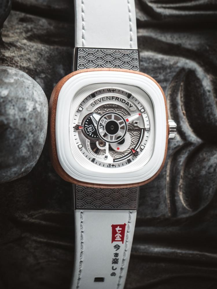 sevenfriday new watch 2018 p1b 03 japan 1 - Sevenfriday 穿越于未来主义与传统文化