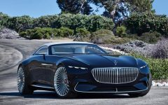 the future car hybrid electric car mercedes benz maybach 6 cabriolet 1 240x150 - 5款未来汽车,电动豪车新趋势!