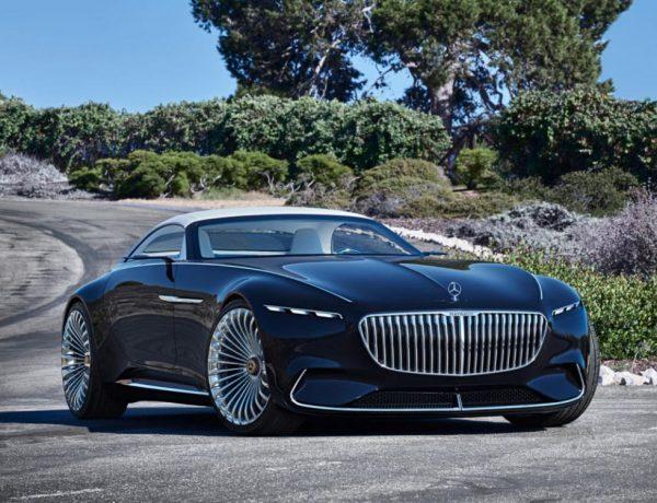 the future car hybrid electric car mercedes benz maybach 6 cabriolet 1 600x460 - 5款未来汽车,电动豪车新趋势!