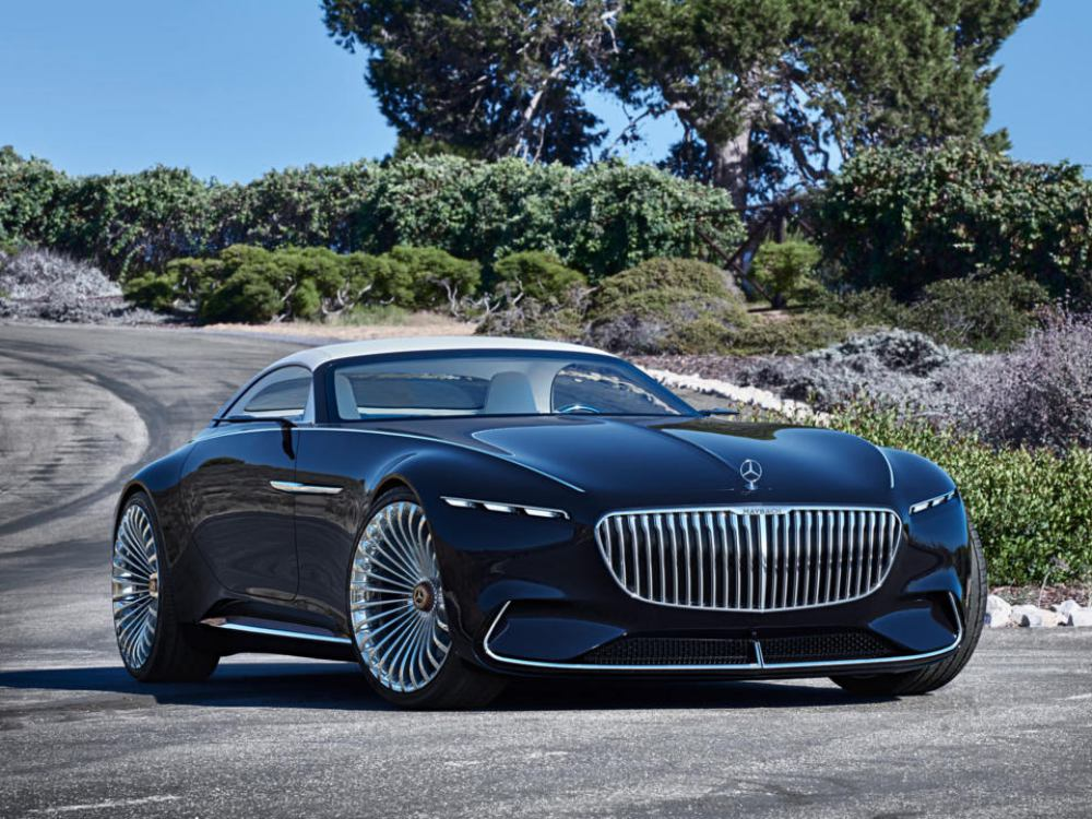 the future car hybrid electric car mercedes benz maybach 6 cabriolet 1 - 5款未来汽车,电动豪车新趋势!