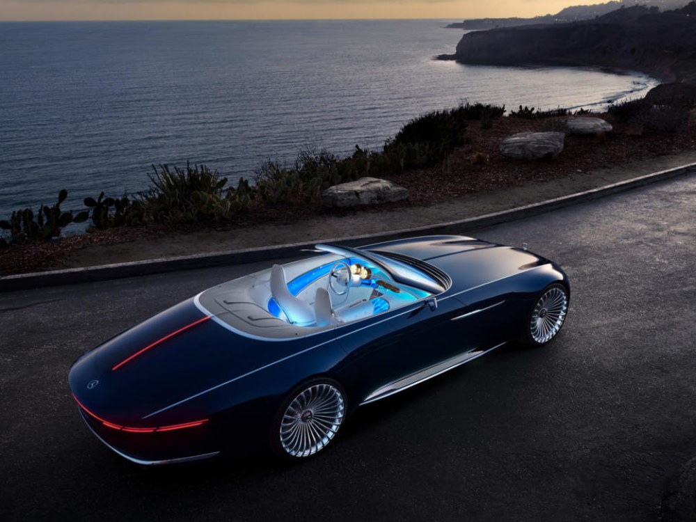 the future car hybrid electric car mercedes benz maybach 6 cabriolet 2 - 5款未来汽车,电动豪车新趋势!