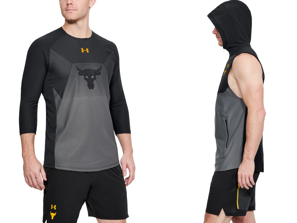 under armour project rock chasing greatness rock delta shirt - The Rock 精神,永不言弃!