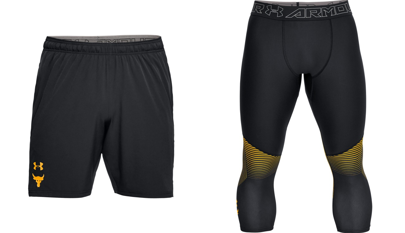 under armour project rock chasing greatness shorts - The Rock 精神,永不言弃!