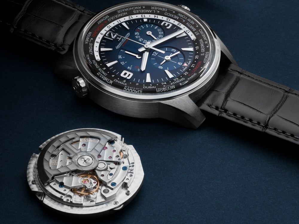 Jaeger LeCoultre Polaris Geographic world time 1 - Jaeger-LeCoultre 环游旅行者之表