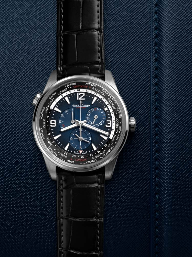 Jaeger LeCoultre Polaris Geographic world time 2 - Jaeger-LeCoultre 环游旅行者之表