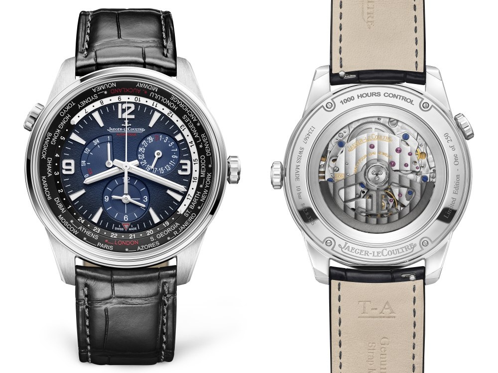 Jaeger LeCoultre Polaris Geographic world time 3 - Jaeger-LeCoultre 环游旅行者之表