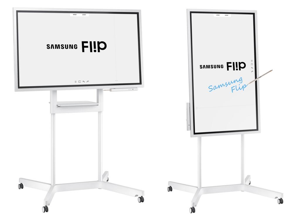 "Samsung digital flip chart board samsung flip 2 - Samsung Flip  智能办公白板,打造""无纸""时代"