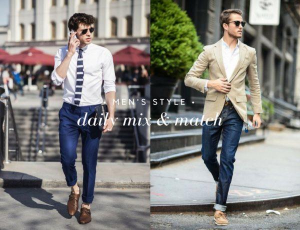 daily mix and match men style BIG  600x460 - 每日变换造型,展现七天心情写照!