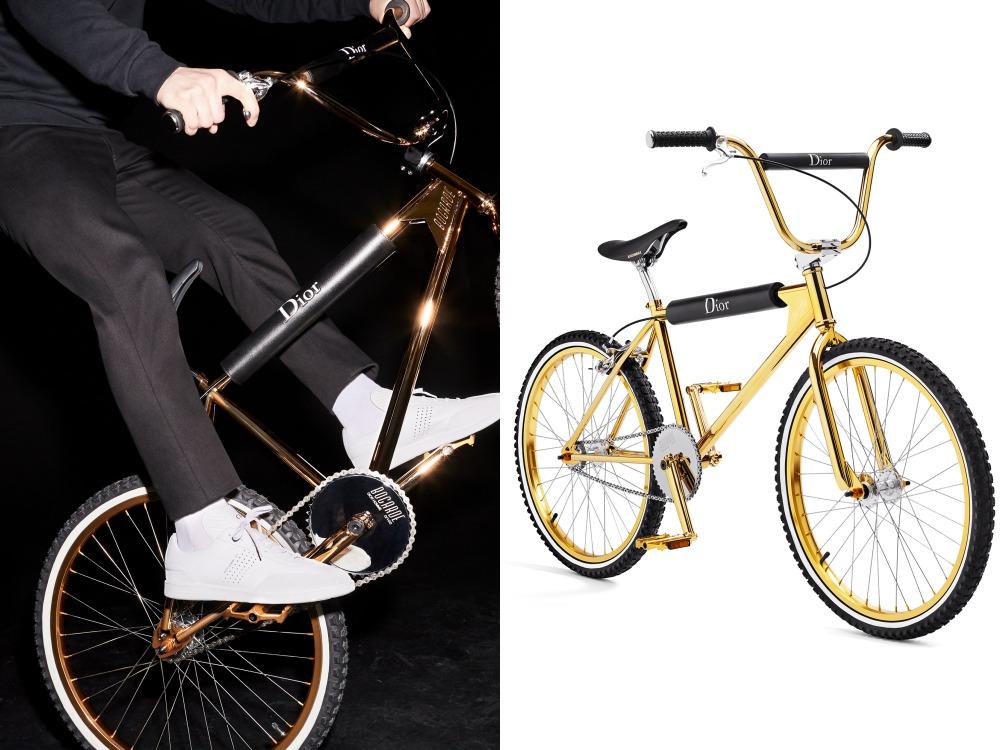 dior homme bmx bogarde BIG - BMX遇上Dior Homme之后的华丽姿态!