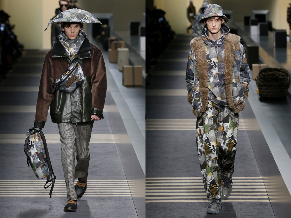 fendi fall winter 2018 mens collection 13 - 启航至Fendi 2018秋冬时尚!