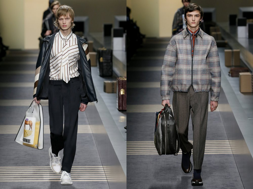 fendi fall winter 2018 mens collection 2 - 启航至Fendi 2018秋冬时尚!