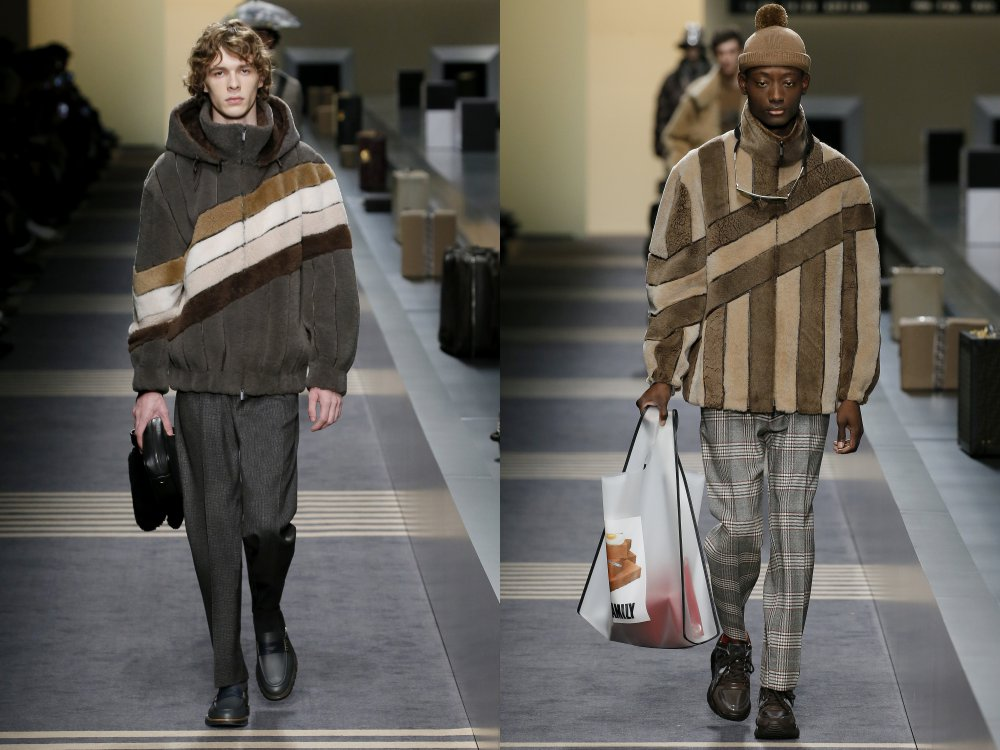 fendi fall winter 2018 mens collection 3 - 启航至Fendi 2018秋冬时尚!