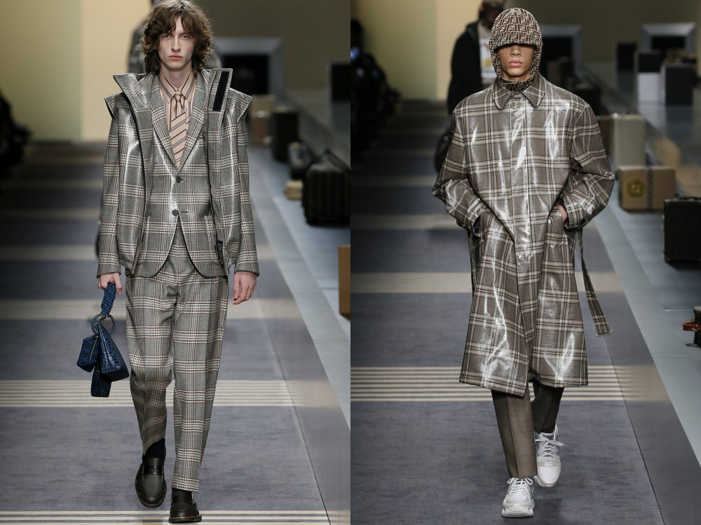 fendi fall winter 2018 mens collection 4 - 启航至Fendi 2018秋冬时尚!