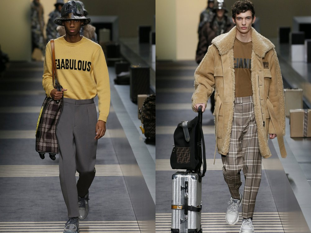 fendi fall winter 2018 mens collection 6 - 启航至Fendi 2018秋冬时尚!