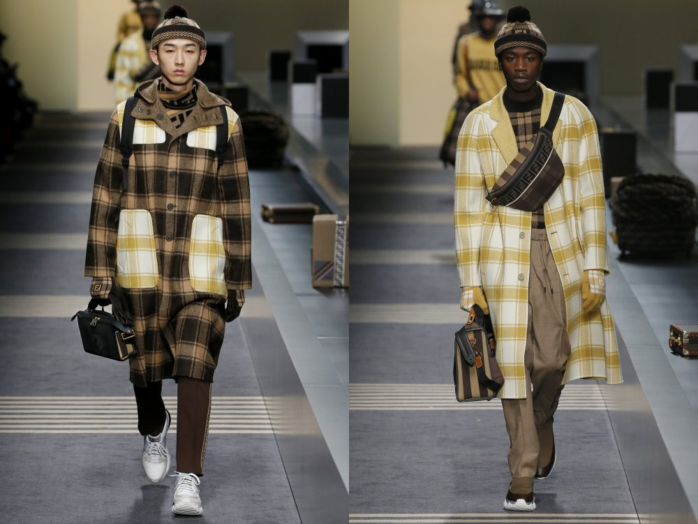 fendi fall winter 2018 mens collection 7 - 启航至Fendi 2018秋冬时尚!