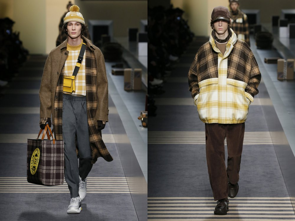 fendi fall winter 2018 mens collection 8 - 启航至Fendi 2018秋冬时尚!