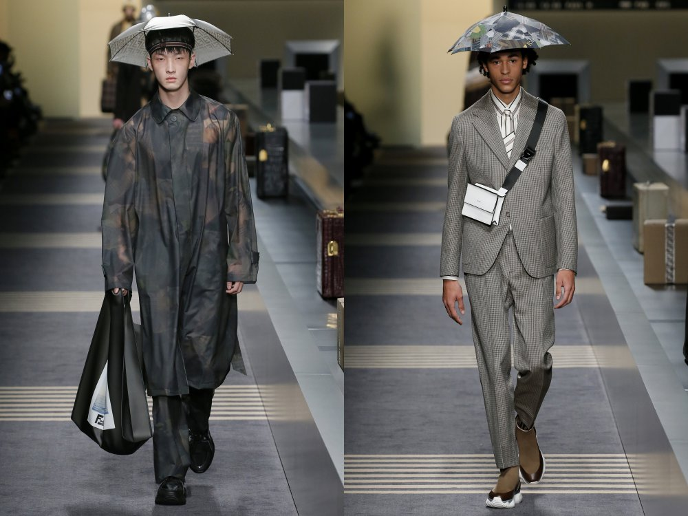fendi fall winter 2018 mens collection 9 - 启航至Fendi 2018秋冬时尚!