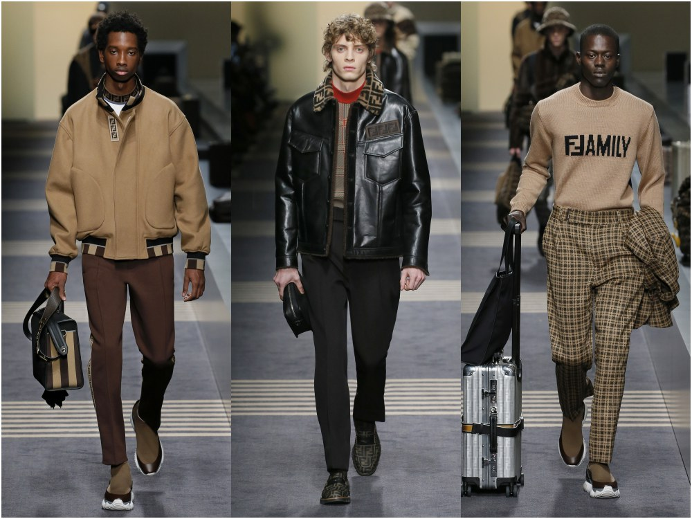 fendi fall winter 2018 mens collection BIG - 启航至Fendi 2018秋冬时尚!