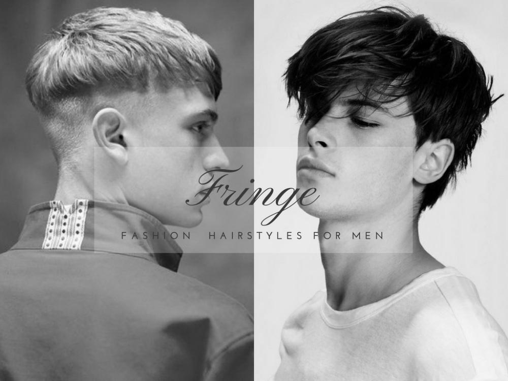 fringe fashion hairstyles for men BIG - 4款时尚又减龄的浏海造型!