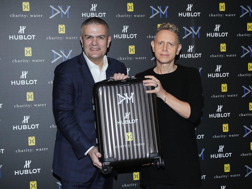 hublot Big Bang Depeche Mode The Singles Limited Edition 11 - Hublot 与 Depeche Mode 摇滚风腕表为慈善助力!