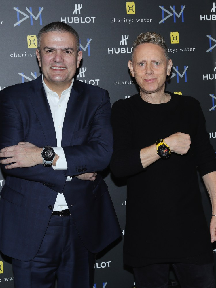hublot Big Bang Depeche Mode The Singles Limited Edition 12 - Hublot 与 Depeche Mode 摇滚风腕表为慈善助力!