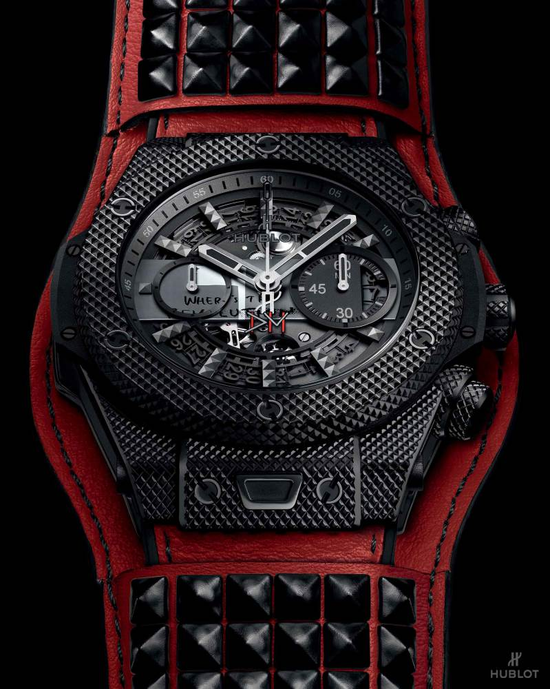 hublot Big Bang Depeche Mode The Singles Limited Edition 5 - Hublot 与 Depeche Mode 摇滚风腕表为慈善助力!