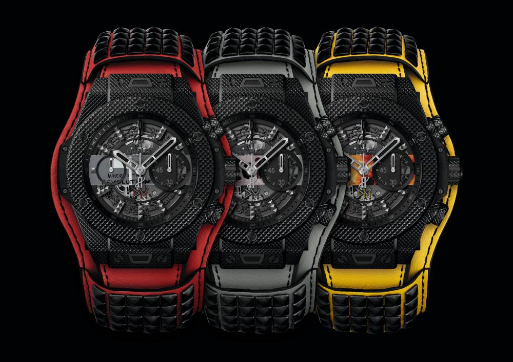 hublot Big Bang Depeche Mode The Singles Limited Edition 6 - Hublot 与 Depeche Mode 摇滚风腕表为慈善助力!