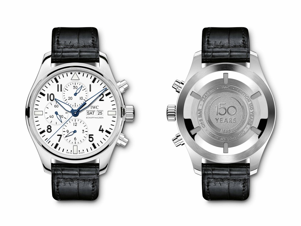 iwc jubilee collection pilot watch 2018 chronograph  - IWC 飞行员腕表系列添大将!