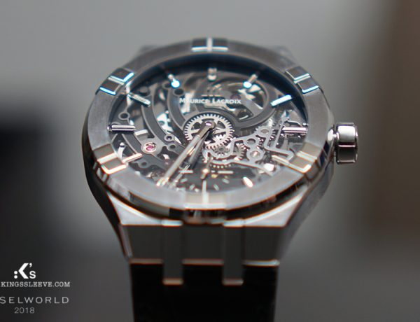 kingssleeve maurice lacroix baselworld 2018 aikon Automatic skeleton 600x460 - Maurice Lacroix The Undeniable Allure of the AIKON