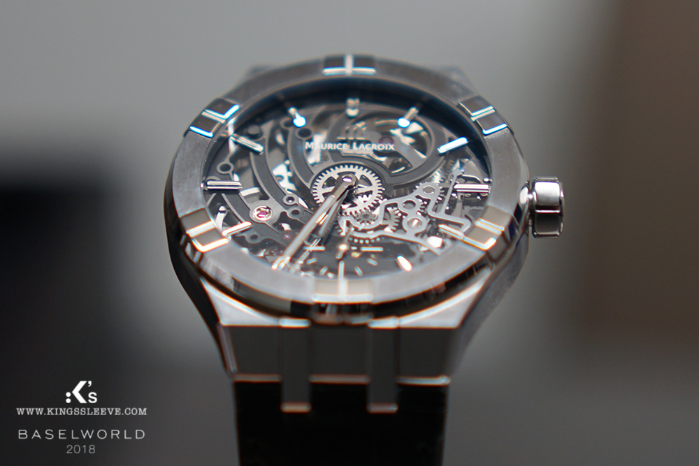 kingssleeve maurice lacroix baselworld 2018 aikon Automatic skeleton - Maurice Lacroix The Undeniable Allure of the AIKON
