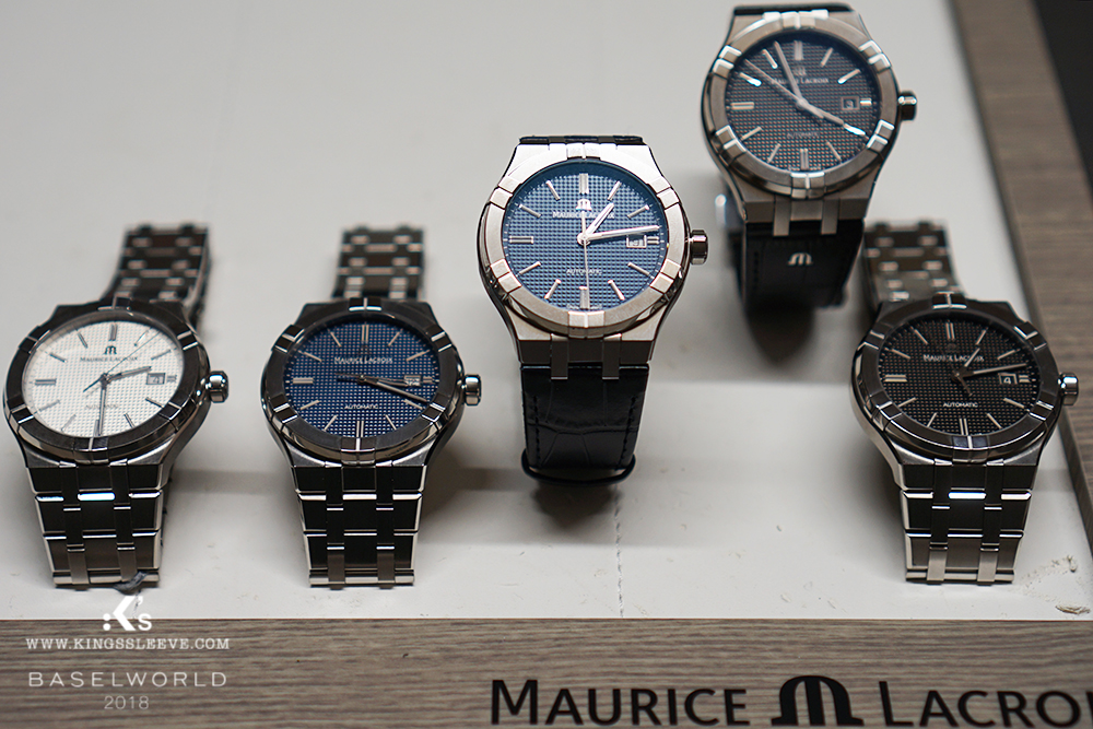 kingssleeve maurice lacroix baselworld 2018 aikon quartz - Maurice Lacroix The Undeniable Allure of the AIKON