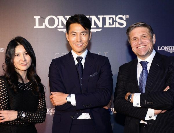 longines conquest vhp launch in south korea and introduce the ambassador of elegance jung woo sung 1  600x460 - Longines 宣布郑雨盛加入优雅大使的阵容!