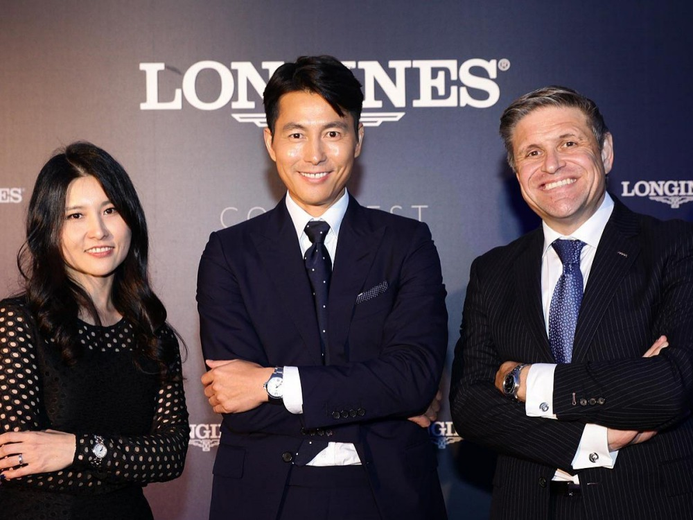 longines conquest vhp launch in south korea and introduce the ambassador of elegance jung woo sung 1  - Longines 宣布郑雨盛加入优雅大使的阵容!