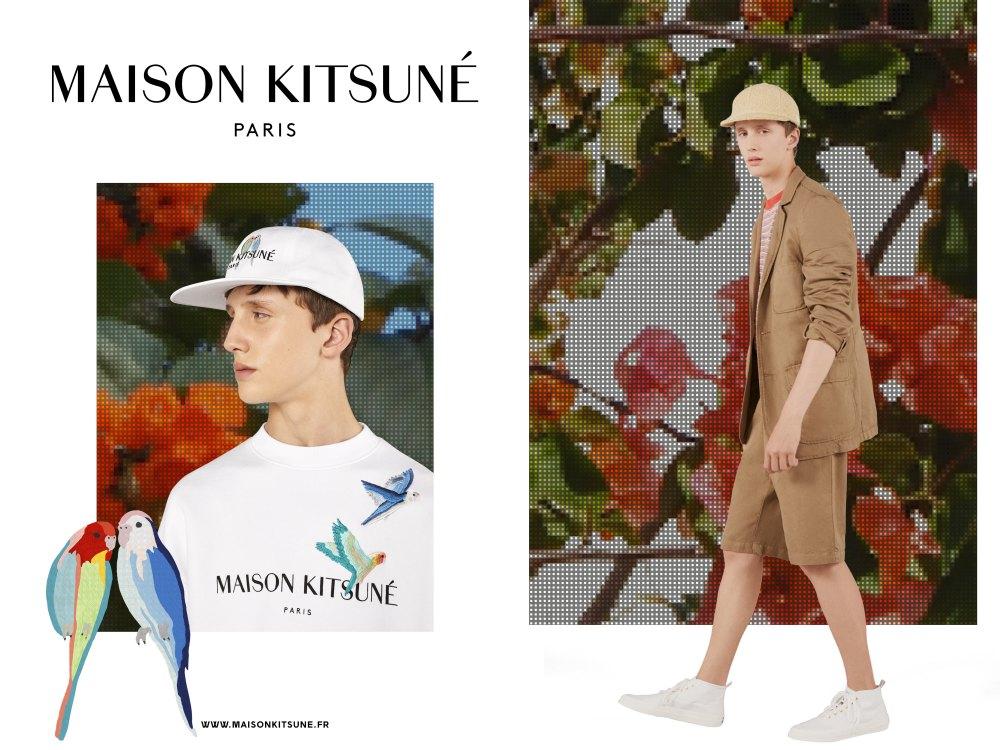 maison kitsune spring summer 2018 BIG  - Maison Kitsune 春夏出走,尽现多面貌!