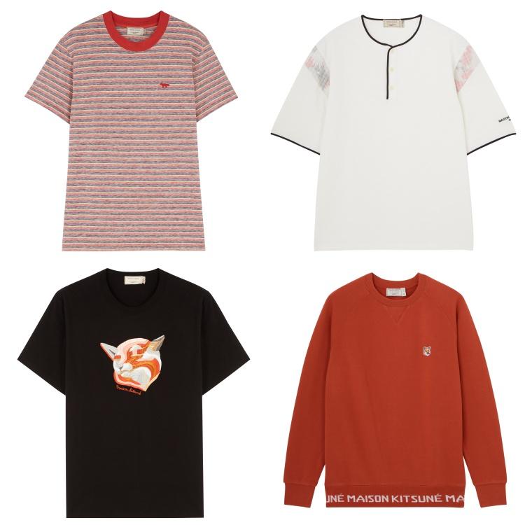 maison kitsune spring summer 2018 product 1 - Maison Kitsune 春夏出走,尽现多面貌!