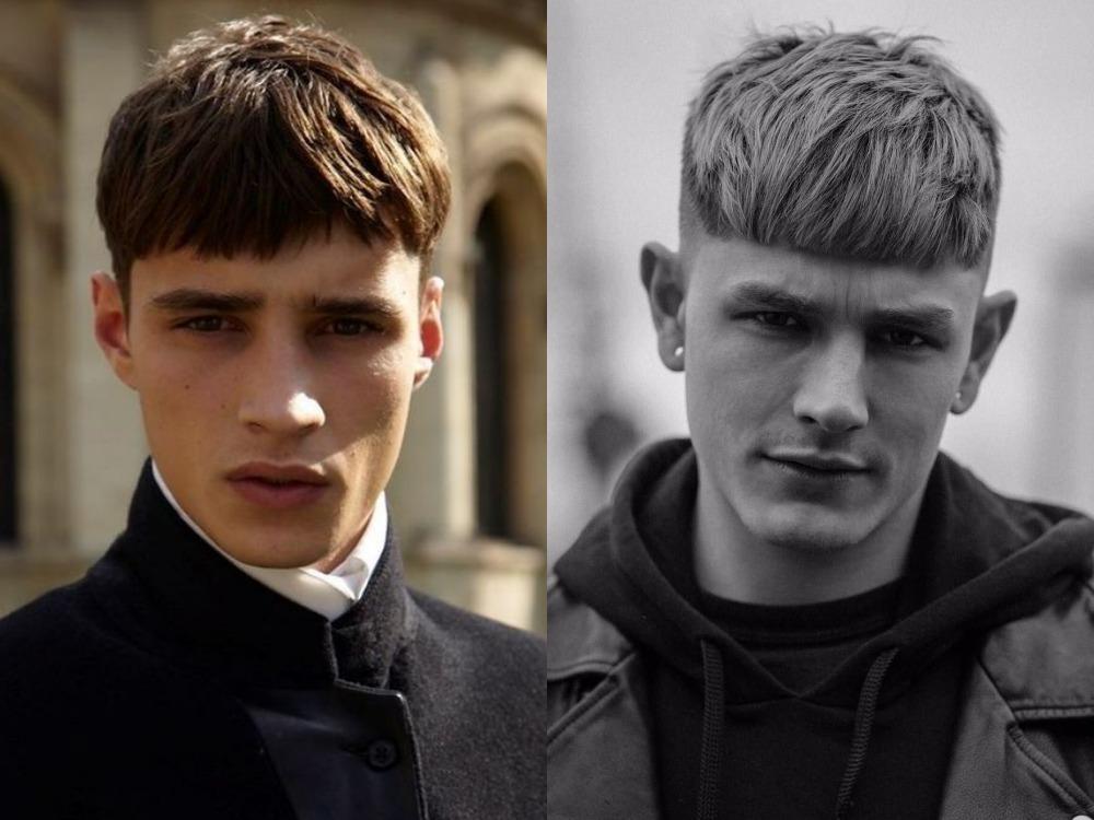 men hairstyle neat fringe - 4款时尚又减龄的浏海造型!