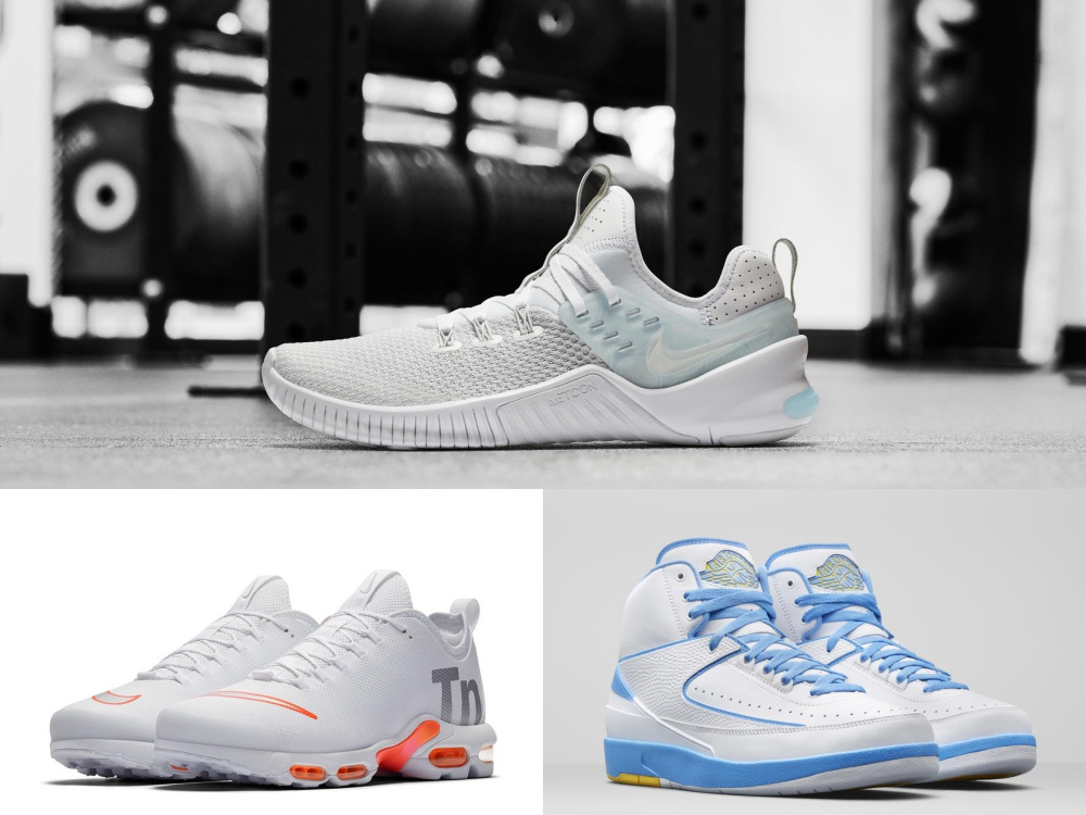 nike new sport shoes white theme colour BIG - 白色主题:3款备受期待的Nike 鞋款!