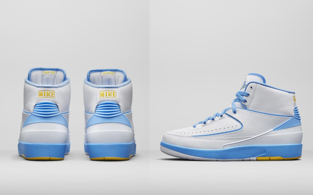 nike new sport shoes white theme colour air jordan II melo 2 - 白色主题:3款备受期待的Nike 鞋款!