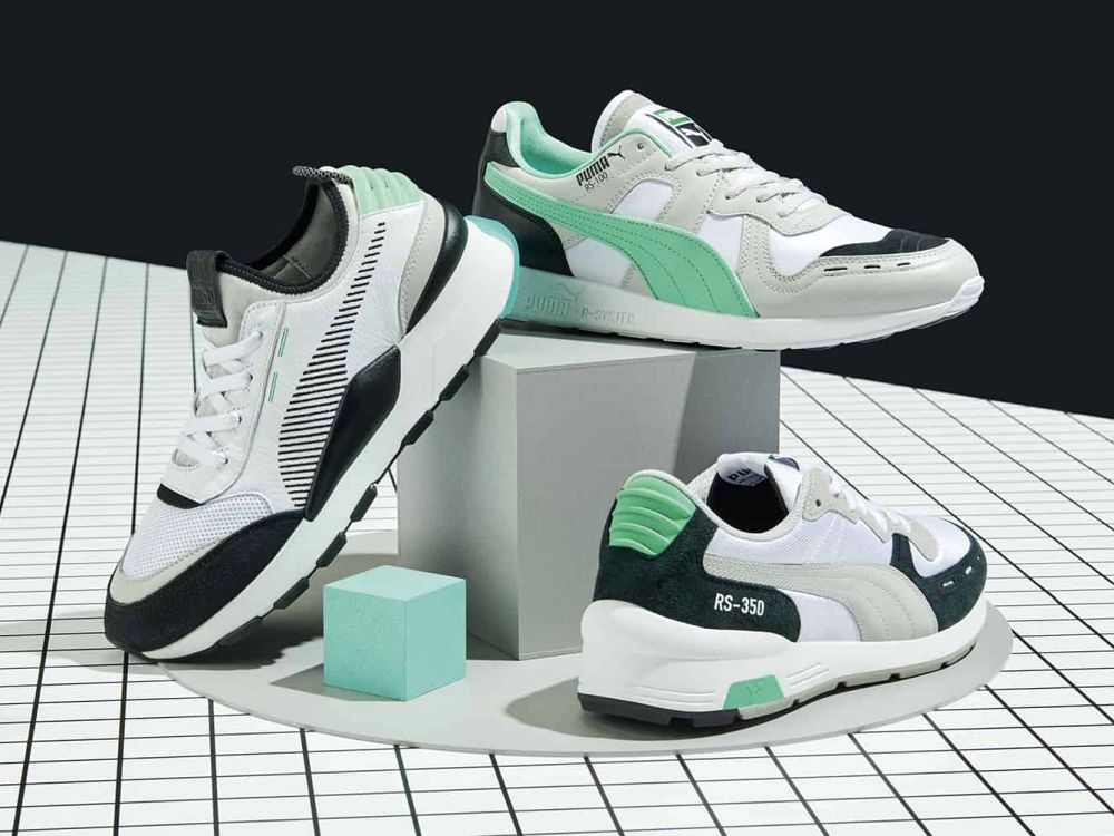 puma RS Future Retro archive green  - Puma 回归R-System,从零出发!