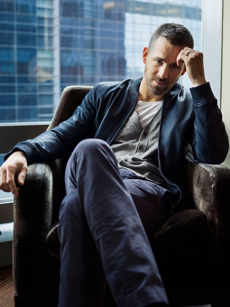 ryan reynolds men fashion hairstyles 1 - 从Ryan Reynolds多变的发型中找灵感!